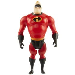 JAKKS PACIFIC The Incredibles 2 Mr. Incredible Figure, 10 cm 74800 039897748009