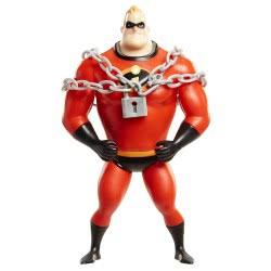 JAKKS PACIFIC The Incredibles 2 Chain Bustin Mr. Incredible 15cm Figure 74861 039897748610
