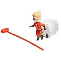 JAKKS PACIFIC The Incredibles 2 Φιγούρα Super Speed Nτας με εκτοξευτή, 15εκ. 74865 039897748658