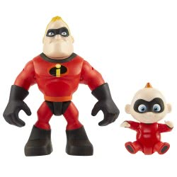 JAKKS PACIFIC The Incredibles 2 Figures Mr. Incredible And Jack Jack, Pack Of 2 76721 039897767215