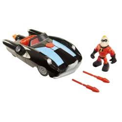 JAKKS PACIFIC The Incredibles 2 Incredible Car and Mr. Incredible Figure 76867 039897768670
