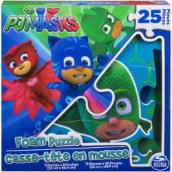 GIOCHI PREZIOSI PJ Masks - Πιτζαμοήρωες Μαλακό Παζλ 25Τμχ PJM73000 8056379059448