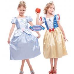 Christys Αποκριάτικη Στολή Disney Σταχτοπούτα-Χιονάτη 2σε1 5-6 ετών 5063-2 5212007552801