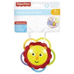Fisher-Price Twist and Turn Lion Rattle FVF42 / FVF44 887961656893