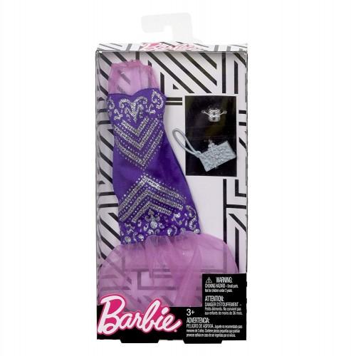 Mattel Barbie Fashion Βραδινά Σύνολα Mermaid Gown Purple FND47 / FKT04 887961551389