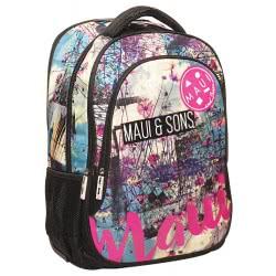Maui and sons Back Me Up Multipack Backbag Maui Floral Beach 339-83031 5204549111769