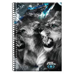 NO FEAR Back Me Up  Spiral Notebook A4 2 Issues - 2 Designs 347-40440 5204549113800