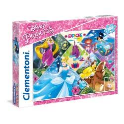 Clementoni Super Color Puzzle Disney Princess Explore Your World, 104Pc 27091 8005125270910