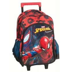 GIM Spiderman Black Σακίδιο Τρόλλεϋ 337-70074 5204549114616