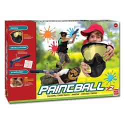 Real Fun Toys Paintball V.2 Super Set 2049 5200392320495