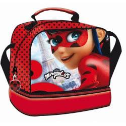 GIM Miraculous Ladybug Paris Τσαντάκι Φαγητού Oβαλ 346-01220 5204549113565
