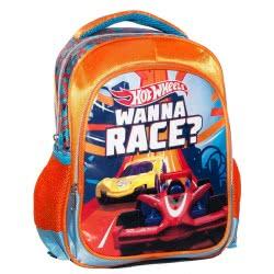 GIM Hot Wheels Wanna Race Τσάντα Πλάτης Νηπιαγωγείου 349-23054 5204549114548