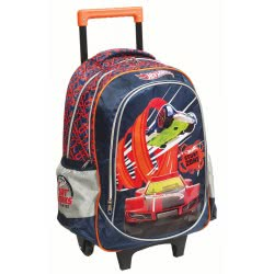 GIM Hot Wheels Stunt Zone Trolley Backbag + Gift Hot Wheels Car 349-23074 5204549114562