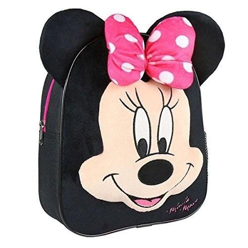 Loly Minnie Mouse Σακίδιο Πλάτης Νηπιαγωγείου Μαύρο 2100002299 8427934194469