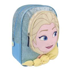 Loly Disney Frozen Έλσα Σακίδιο Πλάτης Νηπιαγωγείου Γαλάζιο 2100002207 8427934174652