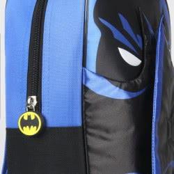 Loly Batman Σακίδιο Πλάτης Νηπιαγωγείου Μαύρο-Μπλε 2100002212 8427934174706