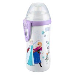 NUK Disney Frozen Junior Cup Παγουράκι με Κλιπ 300ml 36+ Μηνών - 2 Σχέδια 10255310 4008600238508