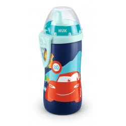 NUK Disney Pixar Cars Kiddy Cup Παγουράκι με Ρύγχος 300ml, 12+ Μηνών 10255354 4008600272038