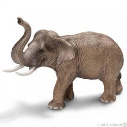 Schleich Ελέφαντας Αρσενικός Ασίας SC14653 4005086146532