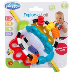 Playgro Explor-a-ball Toy 6m+ 4082426 9321104824264