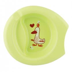 Chicco Easy Feeding Plate - 3 Colours F05-16001-40 8058664086566