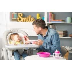 Chicco Easy Feeding Πιάτο Φαγητού - 3 Χρώματα F05-16001-40 8058664086566