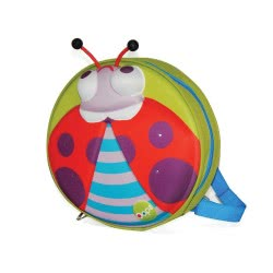 Oops On the Go My Starry 3D Backpack Ladybug X30-30008-33 8033576718323