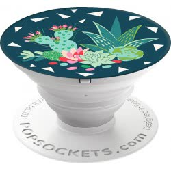 Popsockets Grip Desert Bloom Cactus Compatible with All Smartphones 800014 842978110516