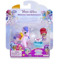 Mattel Shimmer and Shine Μίνι Κουκλίτσες Με Μονοκεράκι Shimmer and Zahracorn FPV96 / FPW00 887961617252