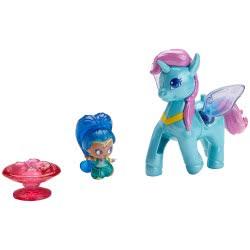 Mattel Shimmer and Shine Μίνι Κουκλίτσες με Μονοκεράκι Shine and Zahracorn FPV96 / FPV99 887961617214