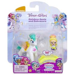 Mattel Shimmer and Shine Μίνι Κουκλίτσες με Μονοκεράκι Rainbow Genie and Zahracorn FPV96 / FPV97 887961617146