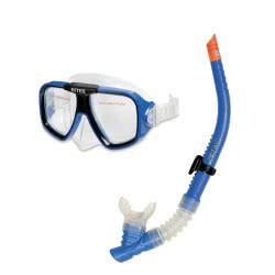 INTEX ΜΑΣΚΑ ΜΕ ΑΝΑΠΝΕΥΣΤΗΡΑ Reef Rider Swim Set 55948 078257559480