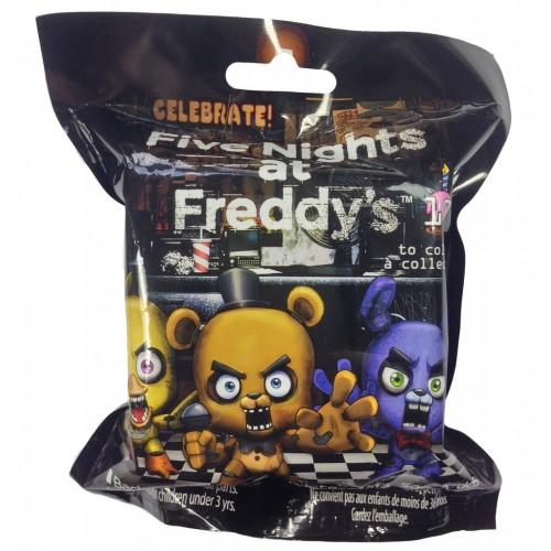 Gama Brands Five Nights At Freddy's Hangers Σειρά 1 Μπρελόκ με Φιγούρα - Τυχαία Επιλογή 10509857 797776061662