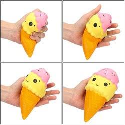 Gama Brands Squishy Slow Rising Ice Cream Figure 15cm 11290004 5212021900046