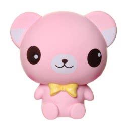 Gama Brands Squishy Slow Rising Pink Bear Figure 15cm 11290007 5212021900077