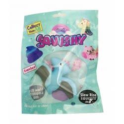 Gama Brands Squishy Dinosaurs Figures - 6 Designs 11200002 5212021900022