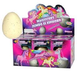 Fun Trading Unicorn Magic Egg Jumbo 8-11Cm - 1 Piece 10104653 4260059598293