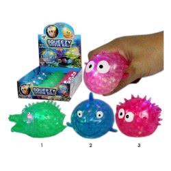 Gama Brands Squishy Squeezy Crystal Ball Μπάλα Ψαράκι με Φώς - 3 Σχέδια 10104727 4260059599146