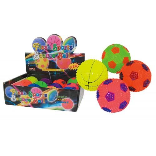 Gama Brands Μπάλα Με Φως Flash Sports Bounce Ball - Τυχαία Επιλογή 10104073 4260059593793