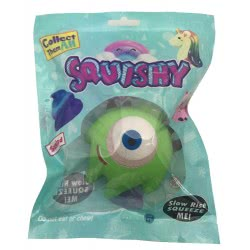 Gama Brands Squishy Monsters - 6 Designs 11200003 5212021900039