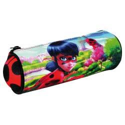 GIM Miraculous Ladybug Κασετίνα Βαρελάκι 346-00140 5204549104471