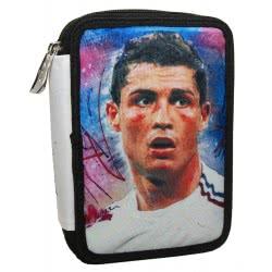GIM Back Me Up Κασετίνα Διπλή Γεμάτη Ronaldo 338-82100 5204549114883