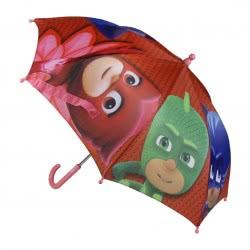 Cerda Pj Masks - Πιτζαμοήρωες Παιδική Ομπρέλα Κόκκινη 2400000365 8427934150922