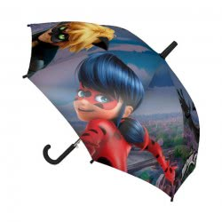 Cerda Miraculous Ladybug Kids Umbrella - Ladybug and Cat Noir 2400000364 8427934994908