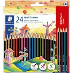 STAEDTLER Noris Colour Ξυλομπογίες 20Τμχ Και 4 Δώρο 04-04-0609 4007817018804