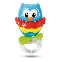 Clementoni baby Baby Owl Rattle 1000-17160 8005125171606