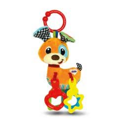 Clementoni baby Βρεφικό Παιχνίδι Κουδουνίστρα Σκυλάκι 2 Σε 1 1000-17214 8005125172146