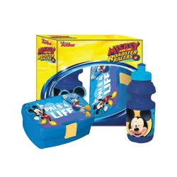 Diakakis imports Σετ Φαγητοδοχείο με Παγούρι Mickey and the Roadster Racers 562017 5205698254208