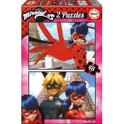 EDUCA Miraculous Ladybug Παζλ 2x48τμχ 17276 8412668172760
