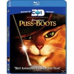 Tanweer BLU-RAY 3D Puss in Boots 001582 5201802076384